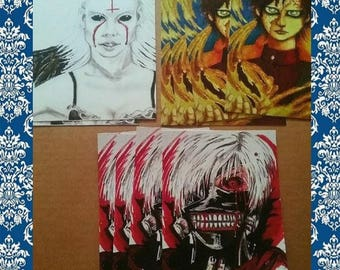 Any 3 postcards for 12.75 sale! High quality prints
