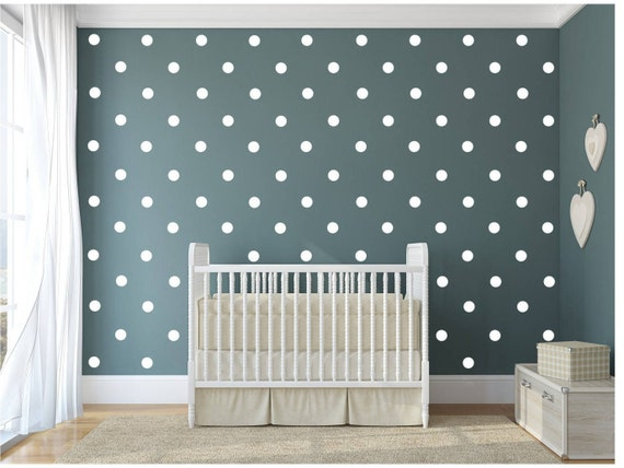 Polka Dot Wall Decal Stickers by GlitterBooze