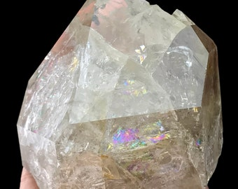 Herkimer Diamond Quartz Crystal Authentic from New York USA H910