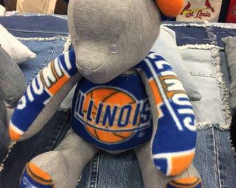 U of Illinois Teddy Bear