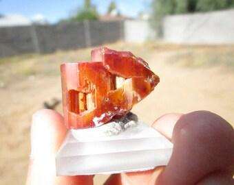 Vanadinite from Red Cloud Mine, Arizona, USA