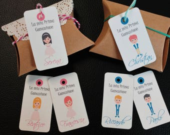 "Baby Shower Tags -  ""LITTLE ME"""