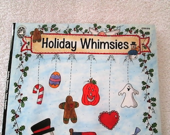 Pattern Book, Holiday Whimsies by Trena Hegdahl, 51 pages, new