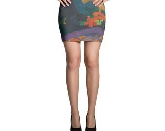 Paul Gauguin, Fatata te Miti (By the Sea) - Mini Skirt