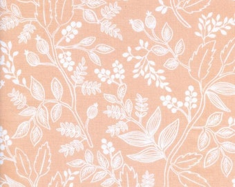 Queen Anne Peach  - Les Fleurs - Anna Bond Rifle Paper Co - Cotton + Steel - 8005-02