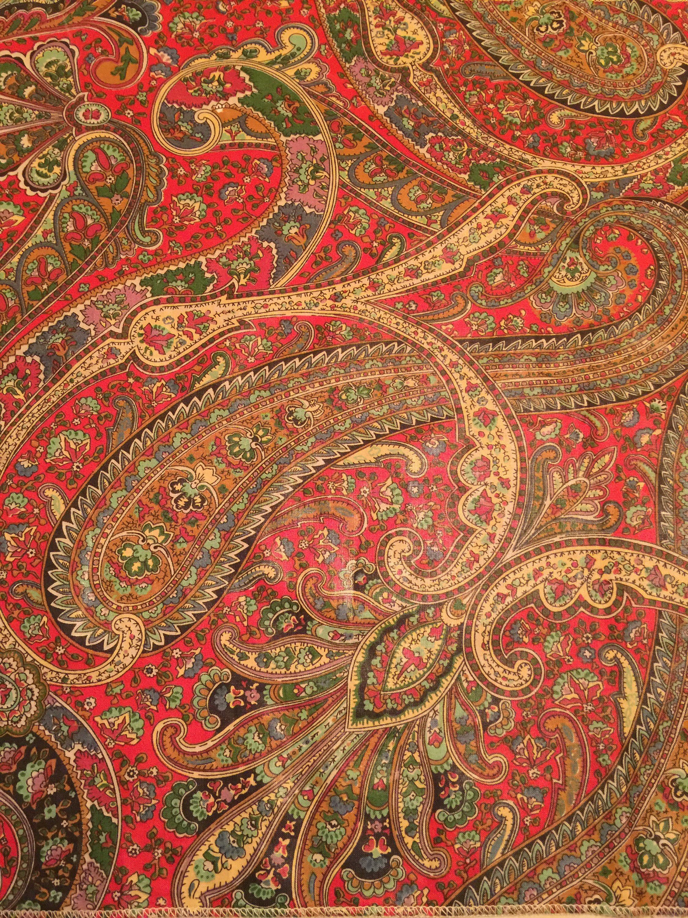 Ideal Clarence House Fabric. Paisley Upholstery Fabric. Designer Fabric  YL17