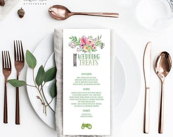 Country Charm - Menu Cards (Style 13505)