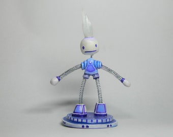 Space Humanoid Robot cute Creature