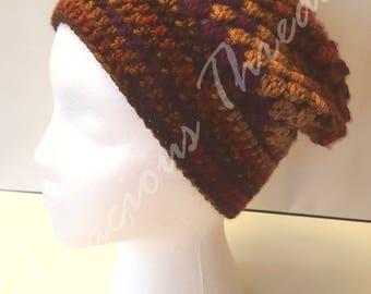 Cluster Stitch Slouchy Hat