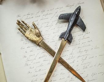 Mini Gold Hand Letter Opener