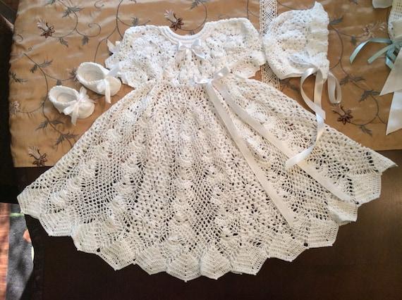Shorter version of the popular heirloom crochet pdf pattern shorter version of the popular heirloom crochet pdf pattern blessing pattern baptism pattern baby crochet pattern infant blessing dt1010fo