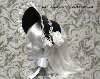 Victorian half-bonnet, Gothic, Lolita