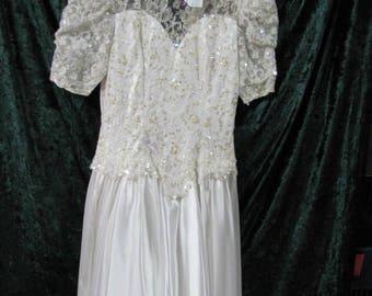 long princess dress satin