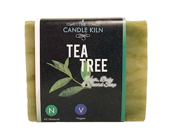 Tea Tree All-Natural PREMIUM Cold Process Soap