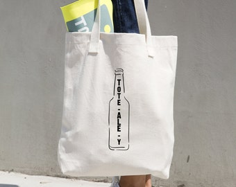 Free Shipping Worldwide - Tote-Ale-Y - Tote-bag