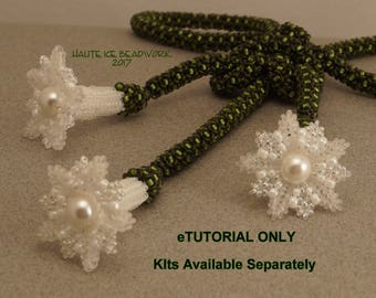 eTUTORIAL Angel's Knot Necklace for Intermediate to Advanced Beaders