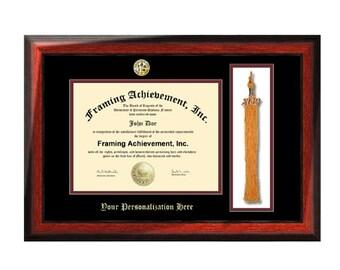 Triple Diploma Frame Certificate Frames University College