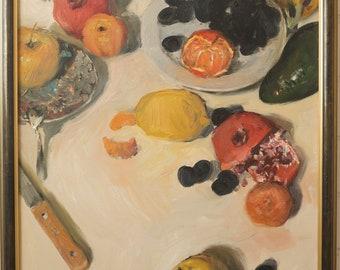 """Anatoly Demenko (b. 1980) - Still life """"Fruits"""""""