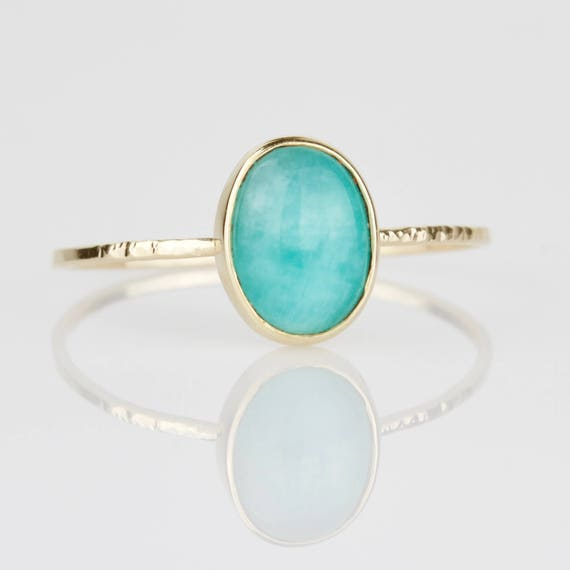 size amazonite sterling rings silver tibetshining asp rough ring detail