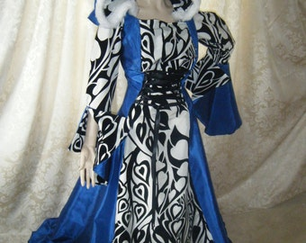 Medieval Renaissance Gown Game of Thrones small/medium/large/xl
