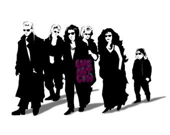 Lost Reservoir Boys Fine Art Print