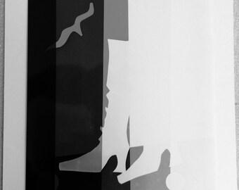 Photogram titled 'walking in sunshine'