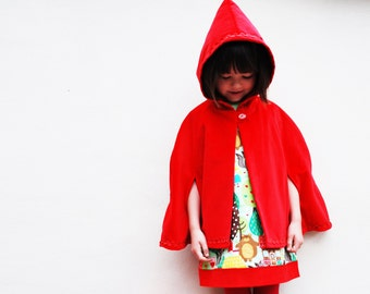 Wild Things Red riding hood cape jacket