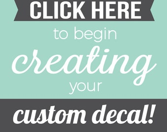 More Colors. Custom Wall Decal   Custom ...