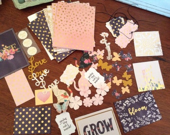 DIY Kit Card Making Set Love in Spring Time
