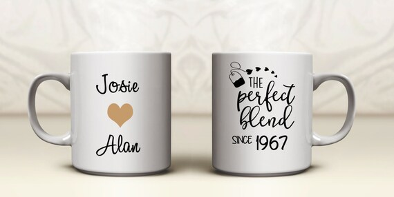 Personalised 50th Wedding Anniversary Gifts: 50th Anniversary Gifts Golden Wedding Anniversary Gift Tea