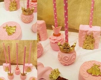 Princess Chocolate Covered Oreos