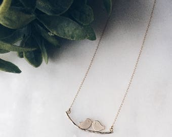 Necklace || Little Lovebirds