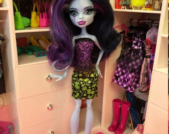 Ooak reroot Abbey Bominable Monster High doll by Denisa