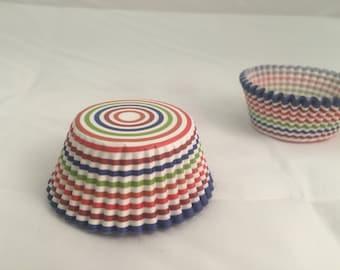 Rainbow baking cupcake liners #25