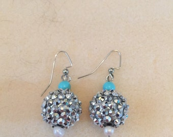Disco Ball Earrings