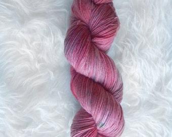 dragonfruit - MCN sock yarn - merino cashmere nylon