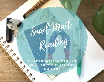Snail Mail Tarot and Oracle Reading