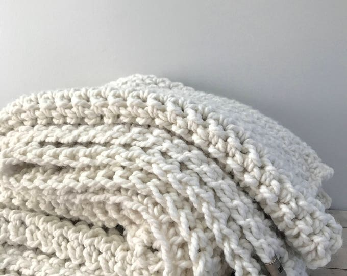 Featured listing image: Chunky Wool Throw
