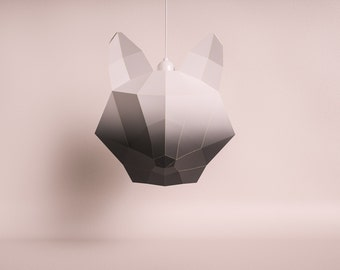Penguin do it yourself paper lamp shade fox large black gradient do it yourself paper lamp shade solutioingenieria Gallery