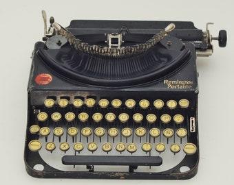 1925 Remington Portable SPANISH Typewriter Vtg Remington Portable 2 RARE Spanish
