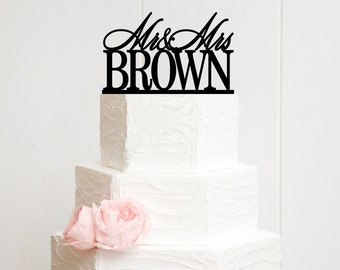 Wedding Cake Topper, Personalized Cake Topper for Wedding, Custom Personalized Wedding Cake Topper, Mr and Mrs Cake Topper, Wedding Decor