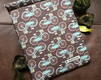 Book Sleeve / Book Cover - Country Bike BookBurrow