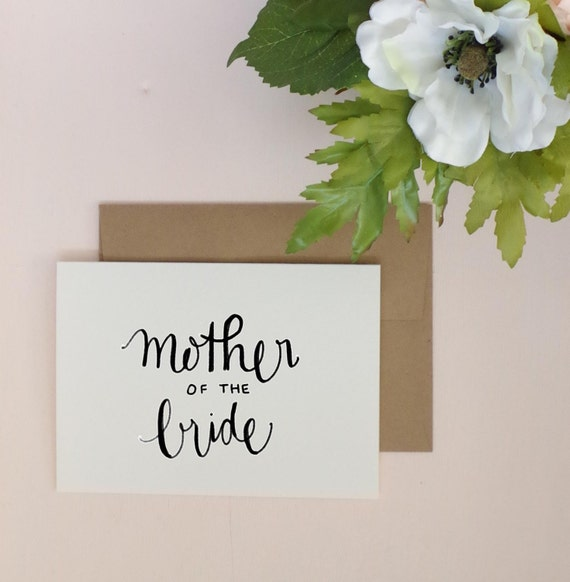 Mother of the bride greeting card wedding card greeting m4hsunfo