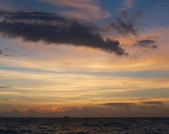 "Travel Photography ""Thai Sunset 1"" Print"