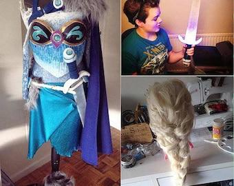 Elsa warrior Cosplay