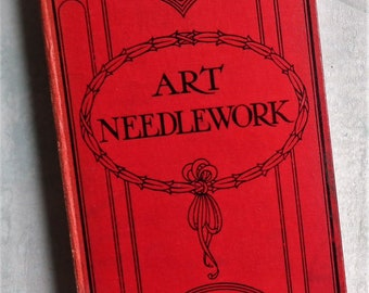 Art Needlework Mrs B. Townend Collins' Useful Books antique embroidery lacemaking