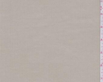 Oyster Stretch Corduroy, Fabric By The Yard