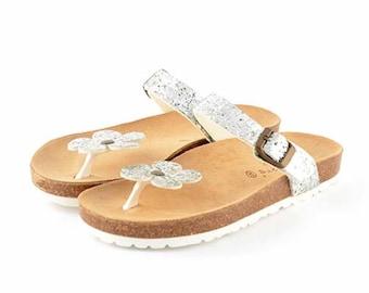 Women's summer slipper Glitter 100% Made in Italy