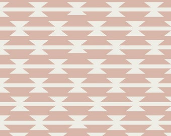 Art Gallery Fabrics -Arizona After- Tomahawk Stripe Blush- 100% Cotton-AGF- Quilting Cotton