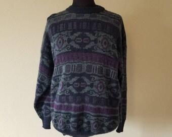 90s vintage Italian sweater, XXL, 2X, 52